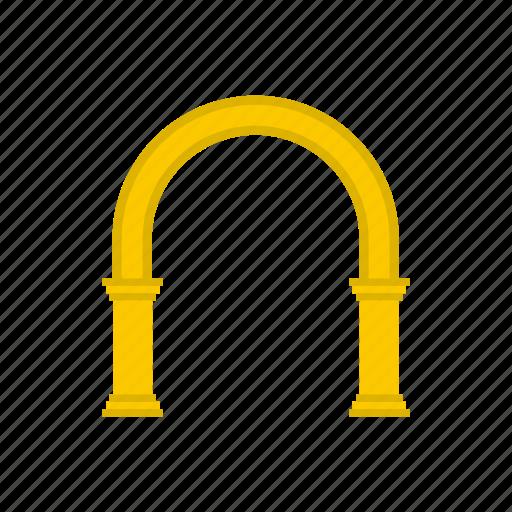 arch, architectural, architecture, cartoon, frame, modern, shape icon