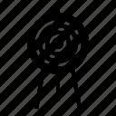 archery, arrow, bow, sport, target icon