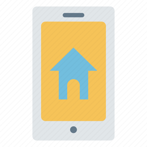 app, home, house, mobile, rent, smartphone icon