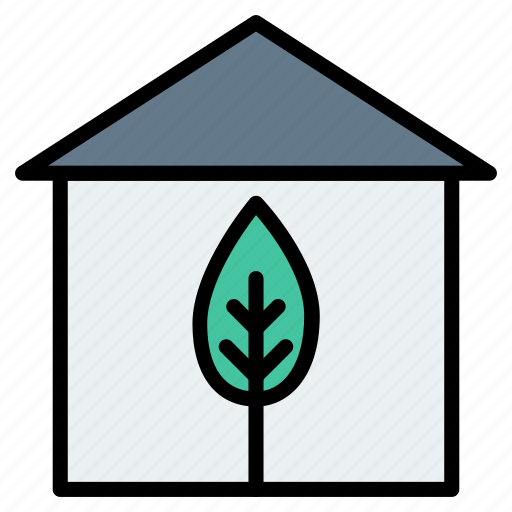 Building, estate, greenhouse, home, house, real icon - Download on Iconfinder