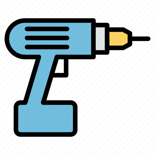 Drill, equivepment, machine, tool icon - Download on Iconfinder