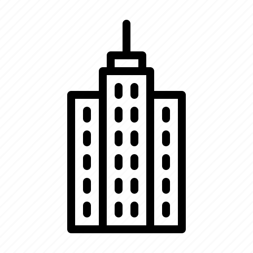 architect, architecture, building, business, draft, draw, skyscraper icon