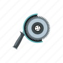 blade, circular, electric, equipment, machine, saw, tool icon