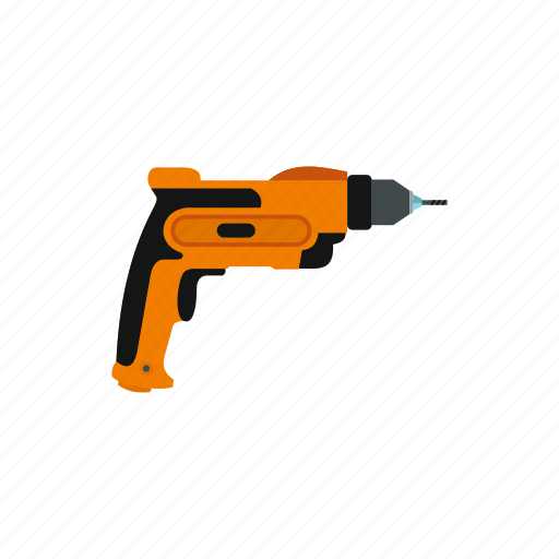 device, drill, equipment, power, repair, tool, work icon