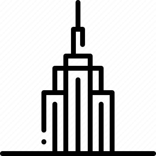 architecture and city, buildings, empire state building, monuments, new york, skyscraper, united states icon