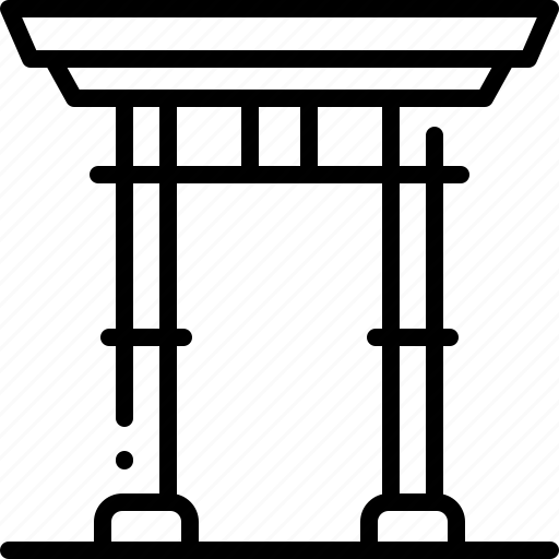 architectonic, asia, building, japan, monuments, torii, torii gate icon
