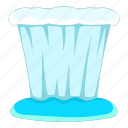 argentina, fall, object, water icon
