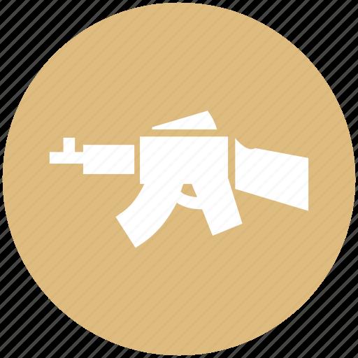 army, gun, military, navy, rifle, weapon icon