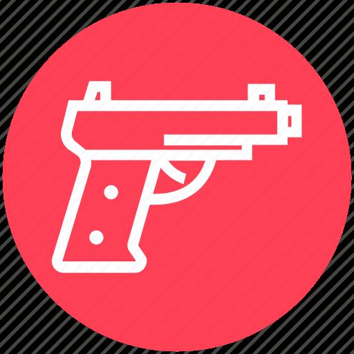 army, game, gun, military, pistol, weapon icon