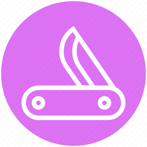 army, camping, flexible, force, jackknife, military, weapon icon