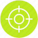 army, bulls eye, circle, military, navy, target, war icon