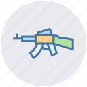 army, gun, military, navy, rifle, weapon icon