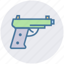 army, game, gun, military, pistol, weapon icon