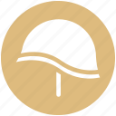 army, army helmet, combat, force, helmet, military, protection icon