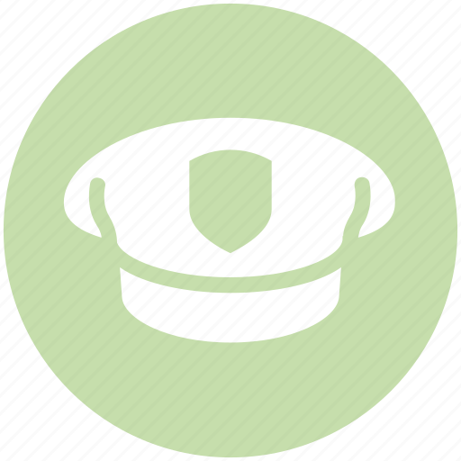 air, cap, force, hat, police cap, police hat, uniform icon