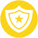 army, badge, court, military, police, sheriff, star icon