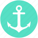 anchor, marine, navy, sea, ship, shipping, voyage icon
