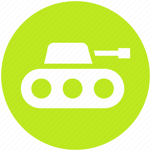 Army, gun, military, tank, vehicle, war, weapon icon - Download on Iconfinder