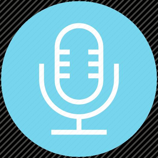 audio, microphone, multimedia, record, sound, speak icon
