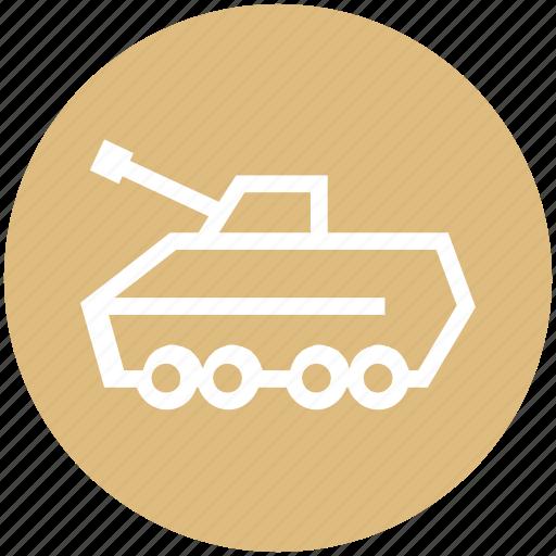 army tank, gun, machine, military, tank, war, weapon icon