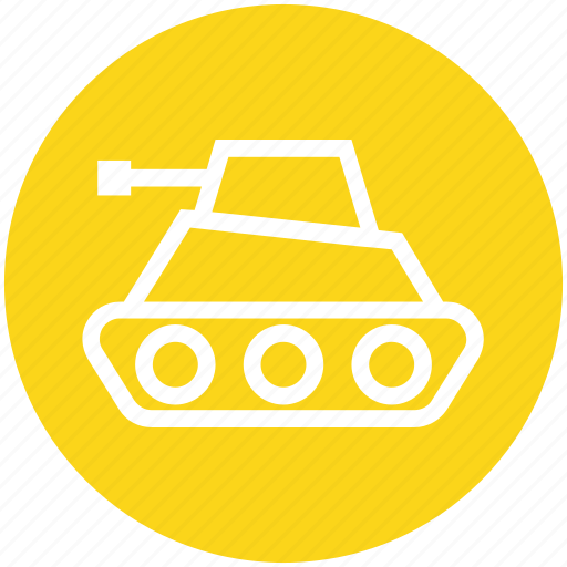 army, gun, military, tank, vehicle, war, weapon icon