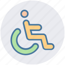wheel-chair, army, handicap, wheel chair, disabled, person, disable