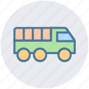 army, army truck, military, transport, truck, vehicle icon