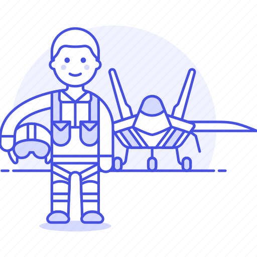 1, aerial, air, aircraft, army, flight, force, jet, male, military, pilot, powered, war icon