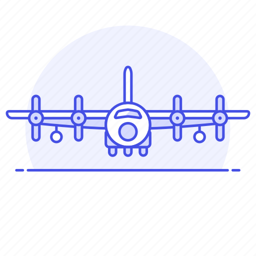 aerial, aeroplane, air, aircraft, airplane, army, combat, force, plane, war, warfare icon