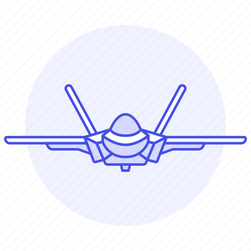 2, aerial, aeroplane, air, aircraft, airplane, army, combat, fighter, force, jet, war, warfare icon