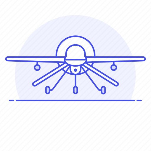 1, aerial, aircraft, army, combat, drone, military, ordnance, uav, ucav, unmaned, vehicle, war icon
