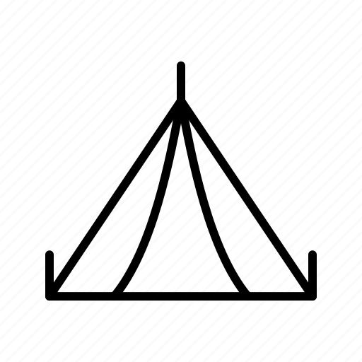 camp, camping, tent icon