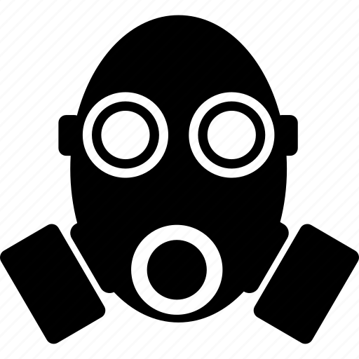 gas mask, mask, military, poison icon