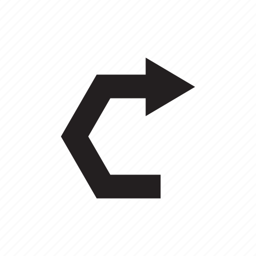 arrow, cursor, direction, pointer, right, way icon