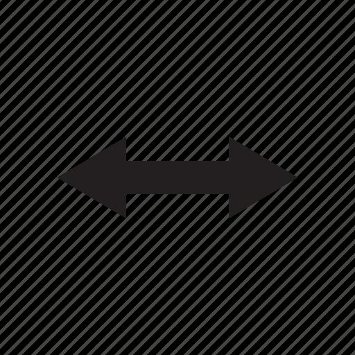 arrow, cursor, direction, left, pointer, right, way icon