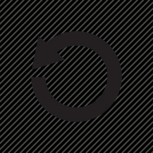 arrow, circle, cursor, direction, redo, reload, undo icon