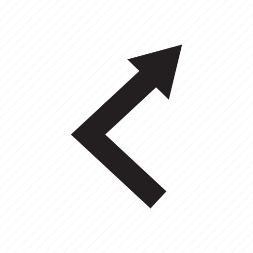 arrow, cursor, direction, pointer, way icon