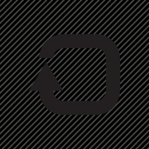 arrow, cursor, direction, pointer, redo, reload, undo icon