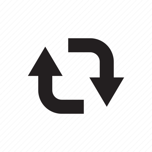 arrow, circle, direction, loop, reload, reuse icon