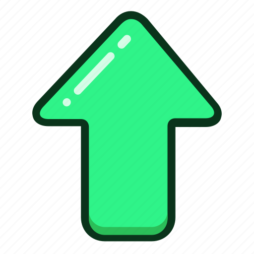 Up, arrow, direction, arrows, upload icon