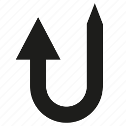 arrow, cursor, diretion, sign icon