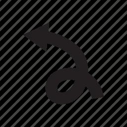 arrow, cursor, direction, left, pointer, way icon