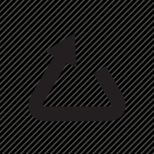 arrow, cursor, direction, loop, recycle, reuse icon