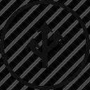 arrow, three, triple icon