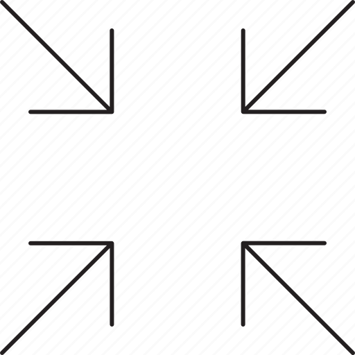 arrow, direction, left, narrow icon