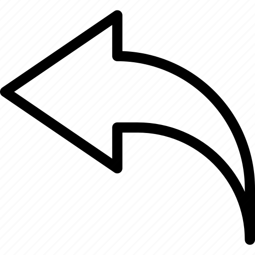 arrow, backward, direction, navigation icon