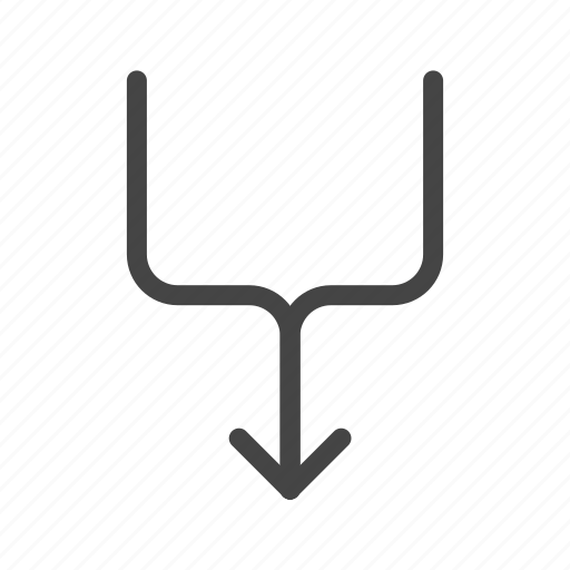 arrow, direction, down, location, navigation, pointer, up icon