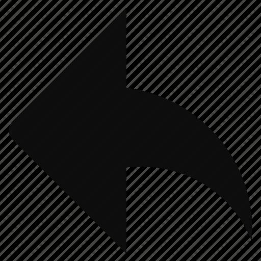 arrow, back, direction, left, prev, previous, redo icon