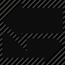 arrow, back, direction, left, next, prev icon