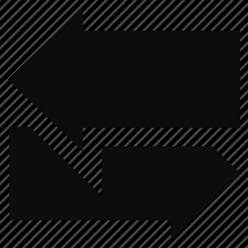 arrow, back, direction, left, next icon